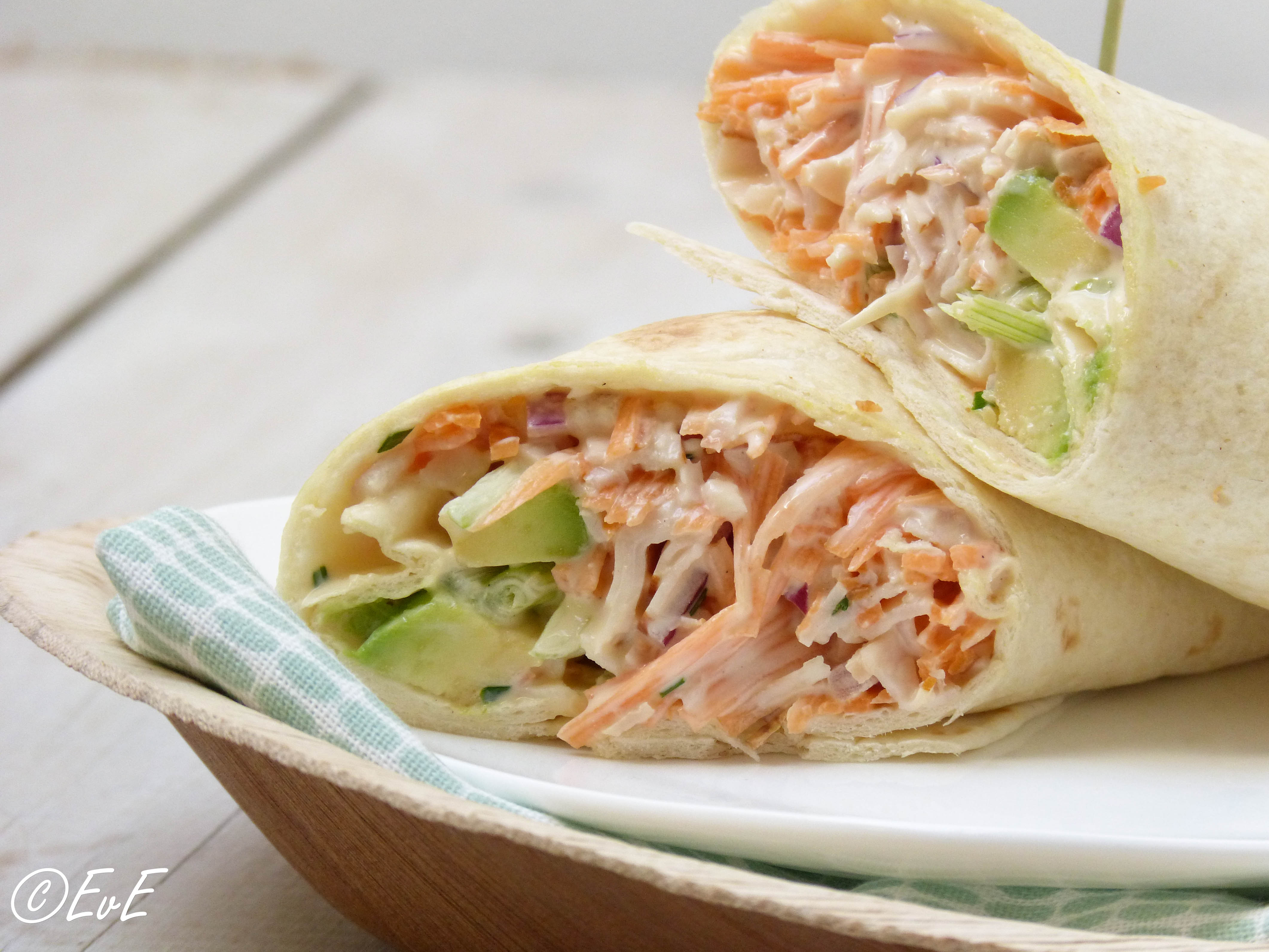 recept lunch wrap