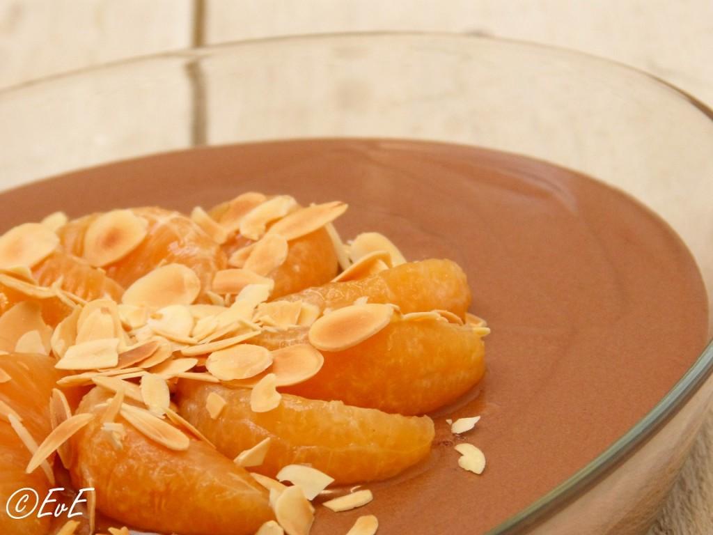 chocolademousse mandarijn